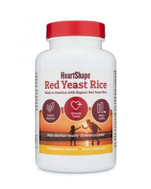 HeartShape Red Yeast Rice Supplement